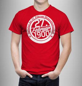 München Birthday Shirt Rot