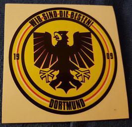150 Dortmund Wir sind die Besten Aufkleber