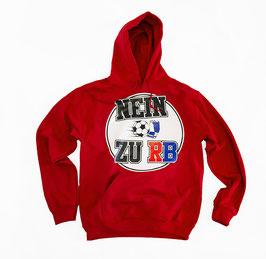 Nein zu RB Hoodie Rot