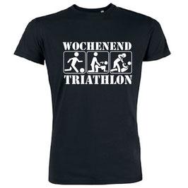 Wochenend Triathlon Shirt schwarz