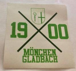Gladbach 1900 Kreuz Aufkleber