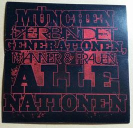 150 München Generationen Aufkleber