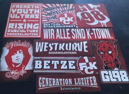 Kaiserslautern Szeneklebermix 6814