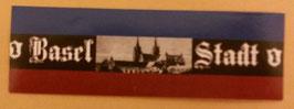 150 Basel Stadt Blau rot Aufkleber