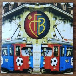 Basel Tram Aufkleber