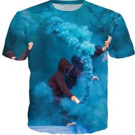 Pyro Shirt Spezial Blau