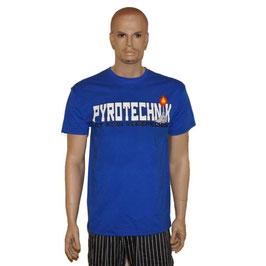 Pyro Shirt Blau 3