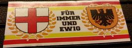150 Freiburg Dortmund für immer und ewig Aufkleber