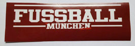 150 München Fussball München Aufkleber