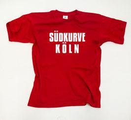 Köln Südkurve Shirt Rot