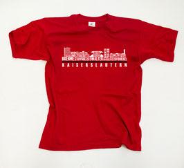 Kaiserslautern Helden Skyline Shirt Rot