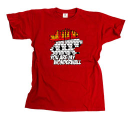 Köln Wonderwall Shirt Rot