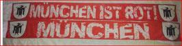 München ist rot Seidenschal