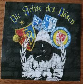 Basel Die Achse des Bösen Wappen und Ultra Aufkleber