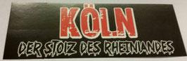 150 Köln Stolz Aufkleber