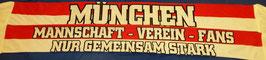 München nur gemeinsam sind wir stark Seidenschal