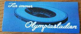 Berlin für immer Olypiastadion Aufkleber