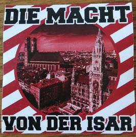 München die Macht von der Isar Aufkleber