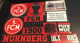 Nürnberg Szeneklebermix 6577