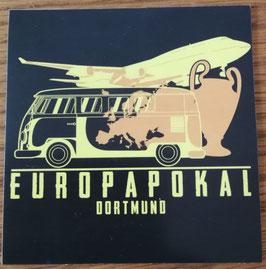 Dortmund Europapokal Aufkleber