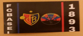 150 Basel 1893 Logos Schwarz Aufkleber
