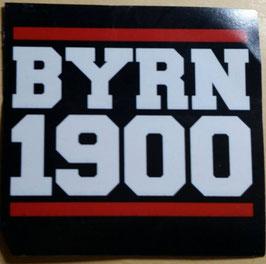 150 Byern 1900 Roter Balken Aufkleber