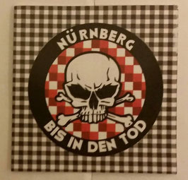 150 Nürnberg bis in den Tod Rund Aufkleber
