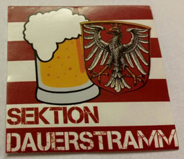 150 Frankfurt Sektion Dauerstramm Aufkleber