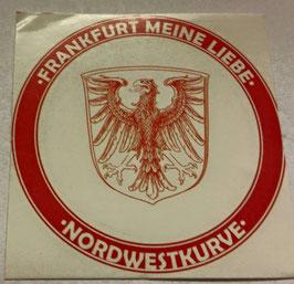 150 Frankfurt Meine Liebe Rund Aufkleber