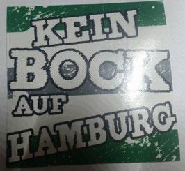150 Kein Bock auf Hamburg Aufkleber