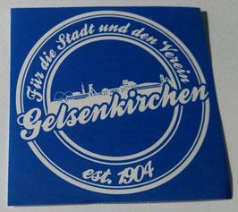 150 Gelsenkirchen für die Stadt und den Verein Aufkleber
