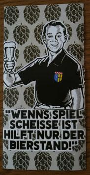 Gladbach Bierstand Aufkleber
