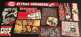 Nürnberg Szeneklebermix 6656