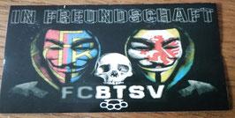 Basel Braunschweig In Freundschaft Masken Aufkleber