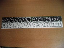 100 Pyrotechnik legalisieren 26x5 Riesig Grün