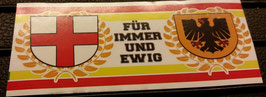 150 Dortmund Freiburg für immer und ewig Aufkleber