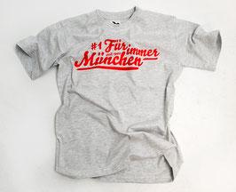 München Für Immer Shirt Grau