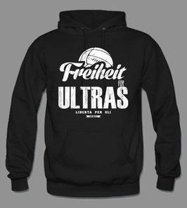 Freiheit für Ultras Hoodie Schwarz