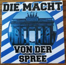 Berlin die Macht von der Spree Aufkleber