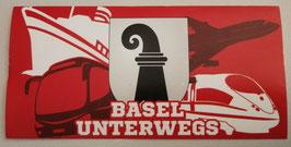 Basel unterwegs Aufkleber