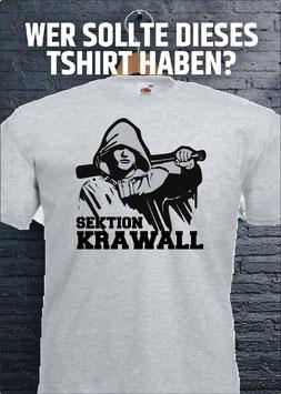 Sektion Krawall Shirt Grau
