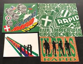 Rapid Wien Szeneklebermix 6820