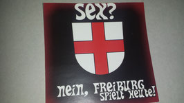 150 Freiburg Sex Aufkleber