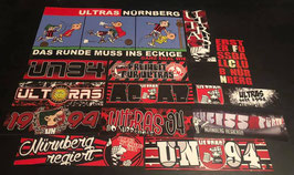Nürnberg Szeneklebermix 12110 Riesenaufkleber