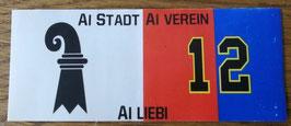 Basel Ai Stadt Ai Verein Ai Liebi Aufkleber