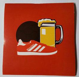 150 München Bier Ball Schuhe Aufkleber