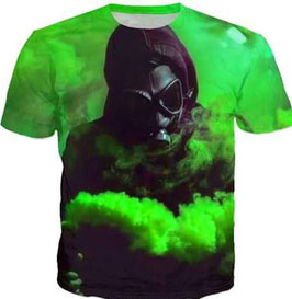 Pyro Shirt Spezial Grün