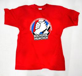 München Bochum Freundschaft Shirt Rot