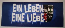 Gelsenkirchen Ein Leben Eine Liebe Aufkleber