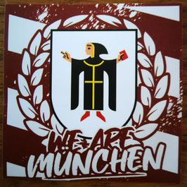150 We are München Aufkleber